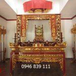 Bán bộ đồ thờ cúng tại Phú Thọ bằng gỗ cao cấp