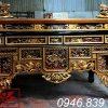 ô xa thờ gỗ mít sơn son thếp vàng ms05