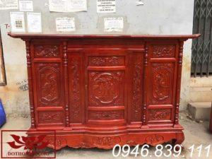 tủ thờ gỗ mít ms06