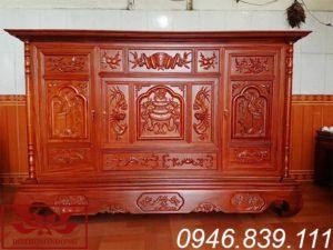 tủ thờ gỗ mít ms07