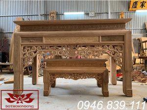 Án gian thờ gỗ gụ ms11