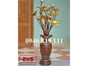 hoa sen gỗ 12