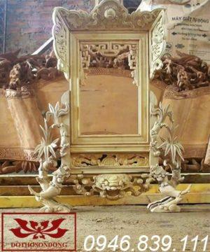 khung ảnh thờ gỗ mít ms06