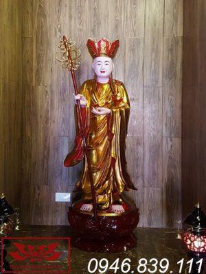 tượng địa tạng vương bồ tát thế đứng ms011