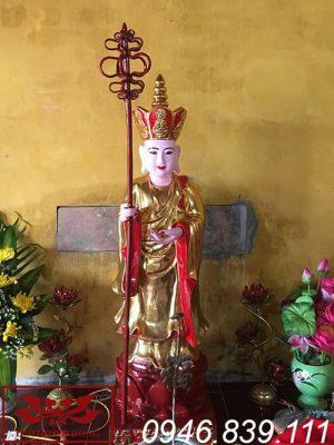 tượng địa tạng vương bồ tát thế đứng ms12