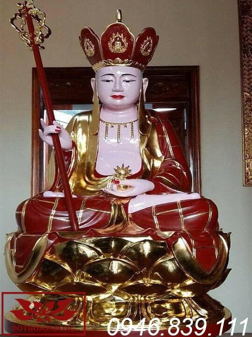 tượng địa tạng vương bồ tát thế ngồi ms01