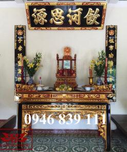 nội thất không gian thờ tư gia 03