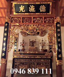 nội thất không gian thờ tư gia 06