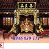 mẫu thiết kế nội thất nhà thờ tư gia 01