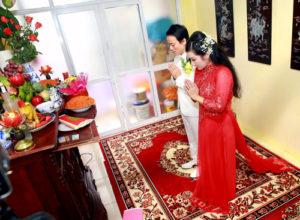 văn khấn khi cưới gả