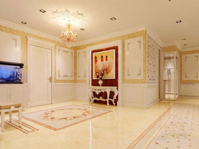 nội thất dát vàng lâu đài gà vàng 01