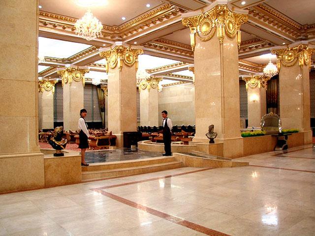 phòng ăn khu vực tầng 1