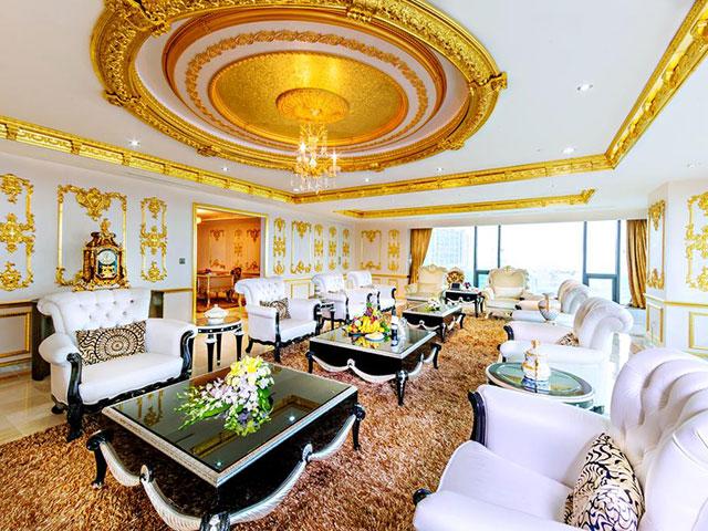 phòng cà phê giả khát trong khách sạn